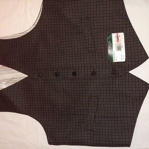 Men's Tweed Vest